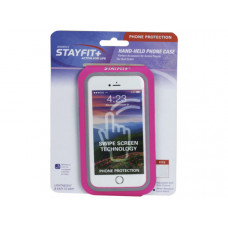 Hand Held Pink Water Resistant Phone Case