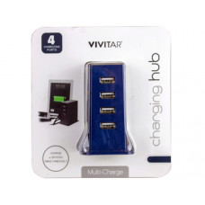 Vivitar 4 Port Desktop USB Charging Hub
