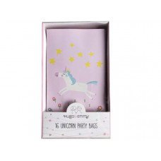 Hugo & Emmy 16 Piece Unicorn Party Bags in Pink
