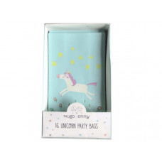 Hugo & Emmy 16 Piece Unicorn Party Bags in Turquoise