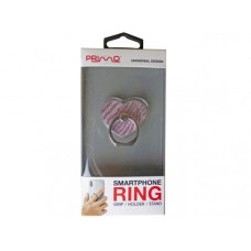 Primo Universal Pink Heart Glitter Smartphone Ring