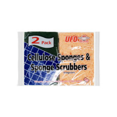 Two Pack Cellulose Sponges & Scrubbers
