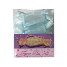 12 piece party favor kit in light blue