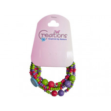 creation elephant themed wrap bracelet