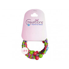 creation flamingo themed wrap bracelet