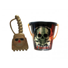 assorted 6'' pirate bucket with shovel