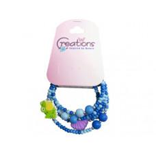 creation frog themed wrap bracelet