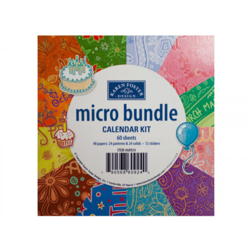 micro bundle calendar kit