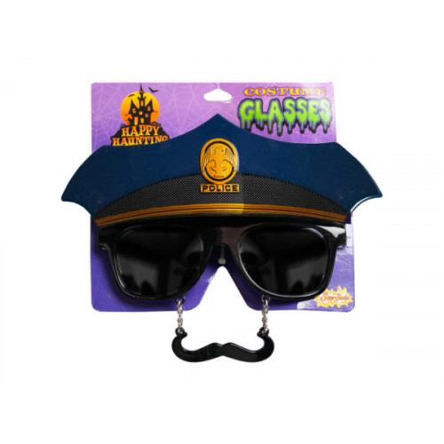 police costume glasses