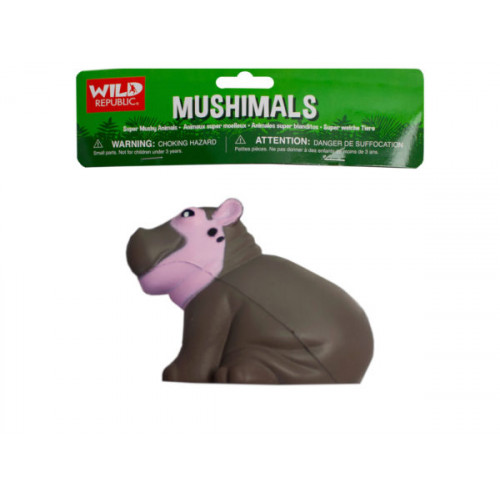 wild republic mushimals squishy hippo