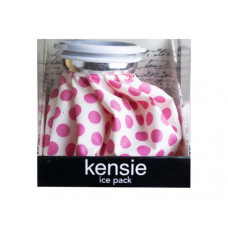 kensie pink polka dot cold therpay ice pack