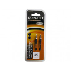 Duracell 10 ft Black Stereo Audio Cable
