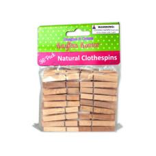 Natural Wood Craft Clothespins