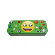 Emoji Tin Pencil Box in 4 Assorted Styles