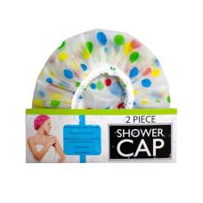 2 Piece Shower Cap w/Balloon Design