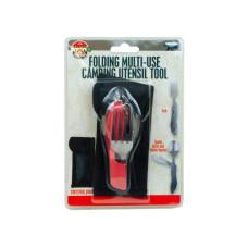 folding multi-use camping utensil tool