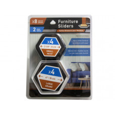 8 Piece Padded Furniture Sliders
