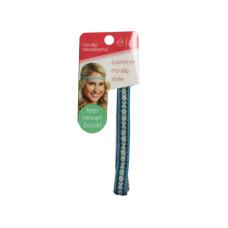 1/2 inch non-slip velvet headband in assorted colors