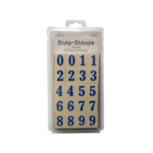 snap-stamps set numbers formal 1""