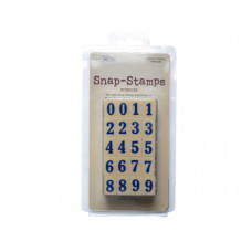 snap-stamps set numbers formal 1/2""