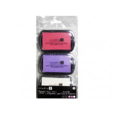 3pk Ink Pad in Pink/Purple/White