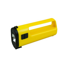 Yellow Flashlight with Handle