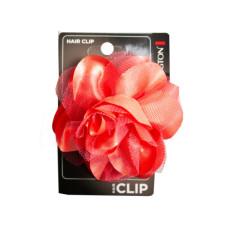 Coral Salon Hair Clip