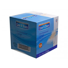 10 Count Clear Waterproof Large Bandages
