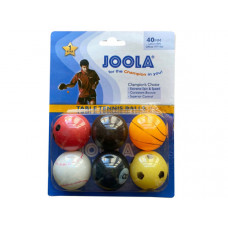 JOOLA 6 Pack Sport Themed TableTennis Balls