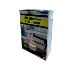 Eiffel Tower 3D Illusion Lamp