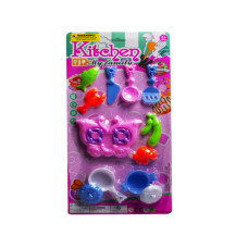 assorted kids cooking play set