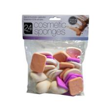 24 Assorted Cosmetic Sponges
