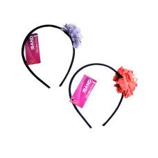 1 Count Flower Head Band in Assorted Colors