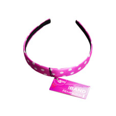 Headband in Assorted Dot and Stripe Pattern