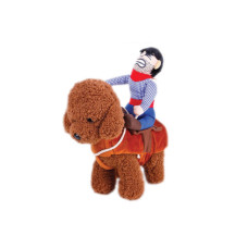 horse riding cowboy pet costume