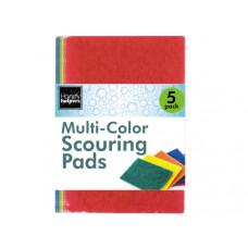 5 piece scouring pad set
