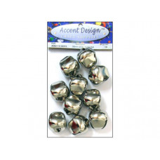 10pc Silver Jingle Bell Value Pack