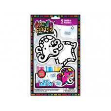 DoodleFormz Do-It-Yourself Sea Life Themed Art Kit with Magnets