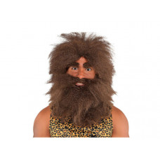 Adult Hairy Caveman Wig WG023