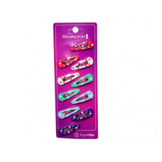 10 Count Hairclips in Assorted Colors