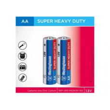 Westinghouse Super Heavy Duty 2 pack AA Batteries