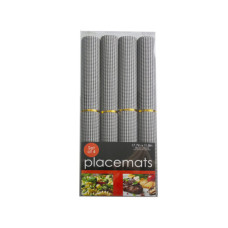 4 piece rolled placemats