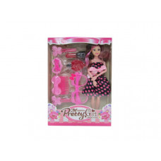 "11"" bendable beauty doll w/accessories"