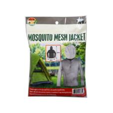 mosquito mesh jacket w/face mask