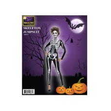 black & bone skeleton ladies catsuit costume