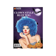 Afro Wig-Blue