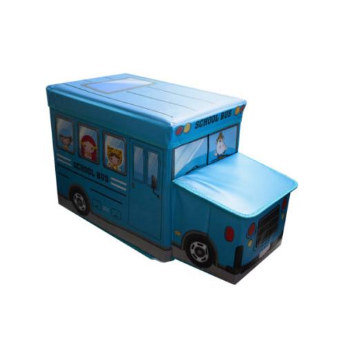 School Bus Storage Seat 2 Asst Colors