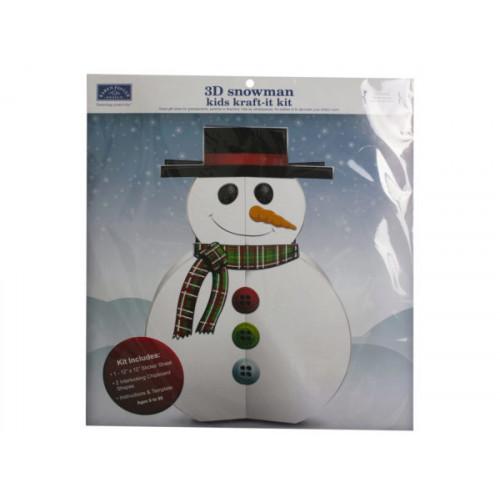 snowman kraft-it-kit