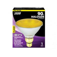 Feit PAR38 90W Yellow Bug Light Halogen Reflector Light Bulb