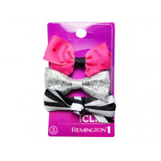 3 Count Salon Hair Clips in Orange and Pink Assorted Colors